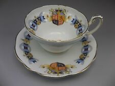 Queen Elizabeth ER Vintage Foley Coronation English Tea Cup Saucer Set 1953