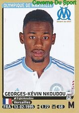 234 GEORGES-KEVIN NKOUDOU # MARSEILLE OM UPDATE STICKER PANINI FOOT 2016