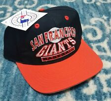San Francisco Giants Vintage 90s Script Snapback hat MLB Logo 7 Athletic NWT New