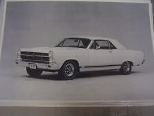 1967 FORD FAIRLANE GT  12 X 18 LARGE PICTURE / PHOTO