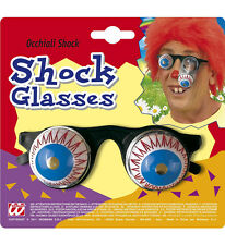 FUNNY JOKE SHOCK HORROR DROP OUT SPRING DROOPY BULGING EYE BALL GLASSES