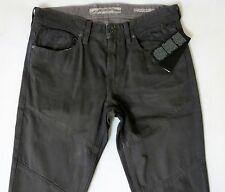 Guess Men Jeans 34 W x 33 Slim Tapered Grey Gray Waxed Finish Brand New w/ Tags