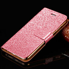 Flip Magnetic Glitter Leather Stand Wallet Pouch Case Cover for iPhone 6 6s Plus