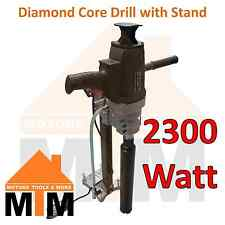2300W Hand Held Wet Dry Diamond Core Drill Concrete Machine Drilling with Stand