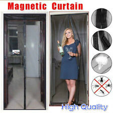 Magnetic Magic Door Mesh - Hands Free Insect Screen - Anti Fly Mosquito Bug F7