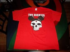 The DICKIES Mickey Mouse ears skull  punk rock tour Concert T-shirt Size XL