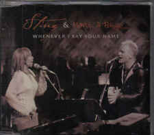Sting&Mary J Blige-Whenever I Say Your Name Promo cd maxi single