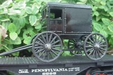 Rickety Amish Wagon Diecast Miniature O Scale Diorama Accessory Item