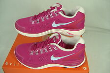 "New Womens 5.5 NIKE ""Lunar Glide 4"" Pink Running Shoes $110"