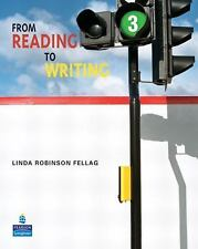 From Reading to Writing 3 with ProofWriter, Fellag, Linda Robinson, Good Book