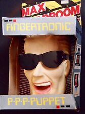 RARE! 1987 MAX HEADROOM Fingertronic Spitting Image PUPPET MIB Toy coke figure