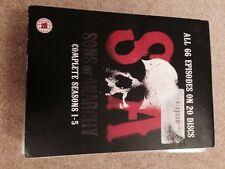 Sons Of Anarchy - Series 1-5 - Complete (Blu-ray, 2013, 15-Disc Set, Box Set)