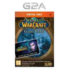 WoW GameCard 60 Days Timecard - World of Warcraft Prepaid Code 60 day EU/UK NEW