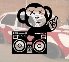 Fuck u Monkey Ghetto Blaster JDM Sticker aufkleber oem PS Power fun like Shocker