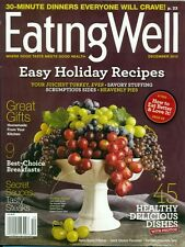 EATING WELL Magazine Dec-12  EASY Holiday Recipes 30 Min DINNERS everyone CRAVES