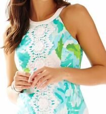 LILLY PULITZER PEARL SHIFT 0 NWT POOLSIDE BLUE FIRST IMPRESSION