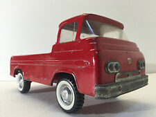 Vintage 1960's Red Nylint Ford Econoline Pickup Truck