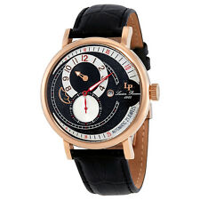 Lucien Piccard Supernova Black and Silver Dial Automatic Mens Watch