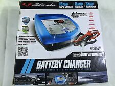 Schumacher CAR BATTERY CHARGER 15A MAINTAINER 6/12V AUTOMATIC TRUCK, MOTORCYCLE