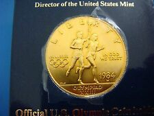 1984 LOS ANGELES OLYMPIC GOLD TEN DOLLAR LIBERTY COIN 16.7 GRAMS, COLLECTIBLE