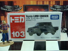 TOMICA #103 TOYOTA LAND CRUISER 1/71 SCALE NEW IN BOX