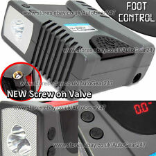 12v 150 Psi Digital Car Van Foot Operated Tyre Air Inflater Compressor Pump +LED