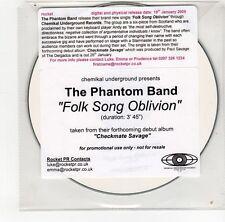 (GO170) The Phantom Band, Folk Song Oblivion - 2009 DJ CD