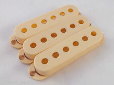 Vintage Relic AGED CREAM PICK UP COVERS 52mm spacing for Stratocaster guitar