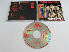 CRYPTIC SLAUGHTER Convicted CD 1986 RARE OOP THRASH ORG 1st PRESS DEATH RECORDS!