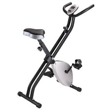 Folding Exercise Bike Magnetic Stationary Cycling Machine Cardio Fitness Tr