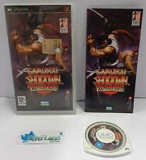 Console Gioco Game UMD Sony Playstation PSP PAL EUR - SAMURAI SHODOWN ANTHOLOGY