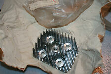 Yamaha snowmobile nos cylinder  head  sl396 vintage mag side 1969