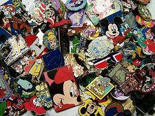 DISNEY PIN 200 PINS MIXED LOT SELF PROCLAIMED FAST SHIP TO USA 100 DIFFERENT PIN