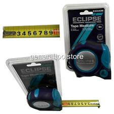 ECLIPSE METRIC ONLY  8 MTR 8M TAPE MEASURE E30440M AUTO LOCK WIDE TAPE PD9