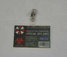 Resident Evil ID Badge-Umbrella Corporation Special Ops Unit costume prop