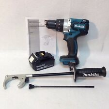 Makita XPH07 New 18V High Torque Li-Ion Brushless Hammer Drill & BL1850B Battery