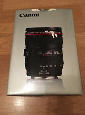 Canon EF 24-105mm f / 4L IS USM Lens Lente EW-83H Brand New Boxed LP1219