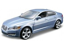 JAGUAR XF 1:32 Car Metal Model Die Cast Models Diecast Cars Blue Burago