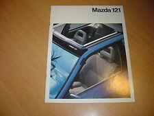 CATALOGUE Mazda 121 de 1990