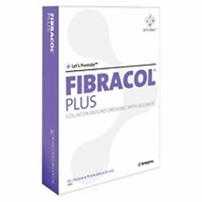 "Fibracol Plus Collagen Wound Dressing with Alginate: 4"" x 4 3/8"" - Box of 12"