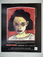 Gregory Grenon Art Gallery Exhibit PRINT AD - 2002