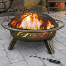 Landmann Patio Lights Firewave Fire Pit - Metallic Brown