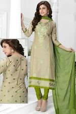 Radiant Cotton Embroidered Salwar Suit Dress Material D.NO NKT1164