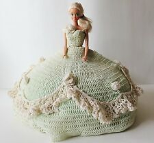 Vintage Barbie Light Green Crochet Pattern Dress Southern Belle 1966