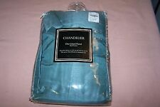 "Chandelier One Lined Window Panel Rod Pocket 54""W x 84""L NEW  Pack Fits 1.5"" Rod"