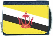 Brunei Flag Denim Wallet