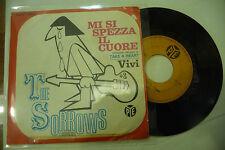 """THE SORROW""""MI SI SPEZZA IL CUORE-disco 45 giri PYE 1966"""" Beat Italy/UK"""