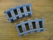 Lego City TRAIN - 8 RC CURVED Tracks -  Mint 3677/7939/60052/60051