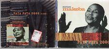 MIRIAM MAKEBA  raro CD single PATA PATA 2000  1 traccia PROMO digipack