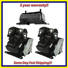2007-2014 Cadillac Escalade/ ESV/ EXT 4WD Motor & Trans. Mount Set 3PCS for Auto